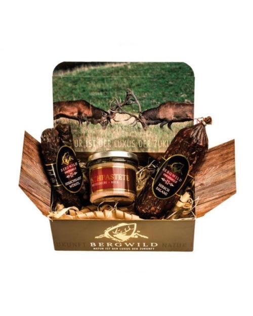Bergwild Geschenkbox I - Wilddelikatessen
