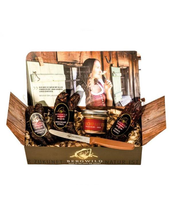 Bergwild Geschenkbox II - Wilddelikatessen